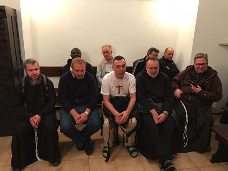 The meeting of formators, Rome, Centro Astalli 2016